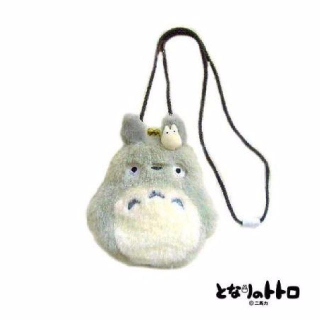 【現貨+預購】龍貓/TOTORO:頸揹零錢包(尺寸:180mm)_免運。