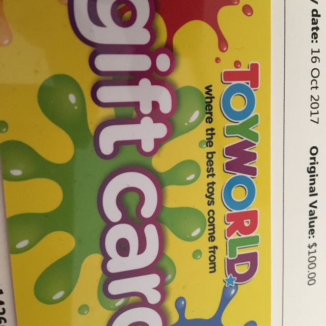 Toy World Gift Card