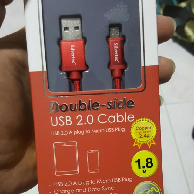 Usb Cable, Support Samsung Fast Charging