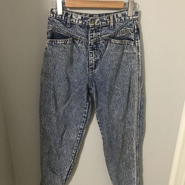 Vintage High waisted Mum Jeans