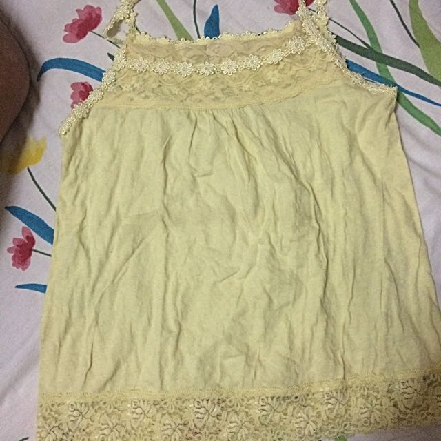 Yellow LCe Tankini Fits XS-S Frame