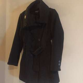 REDUCED- Black Dress Coat