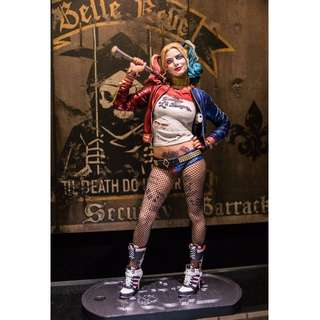 DC #SUICIDE SQUAD CRAZY TOYS HARLEY QUINN 1/6TH SCALE COLLECTIBLE FIGURE