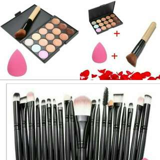 Promo! Set brush + contour pallette