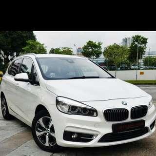 BMW 218i Active Tourer Luxury ( Coe 30th April 2025)