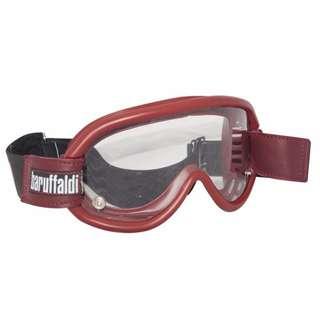 【金剛安全帽】 義大利 BARUFFALDI SPEED4 紅色 風鏡 可換式鏡片 可調式頭帶 防風塵