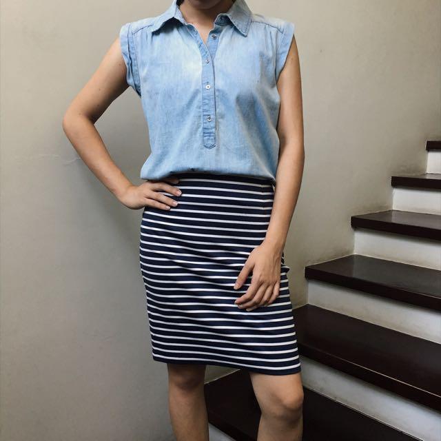 018 Denim Dress