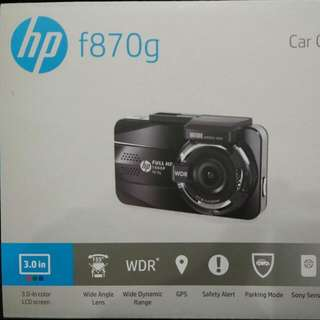 HP Car Camcorder Dual Cam
