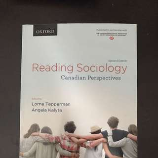 """Reading Sociology: Canadian Perspectives"""