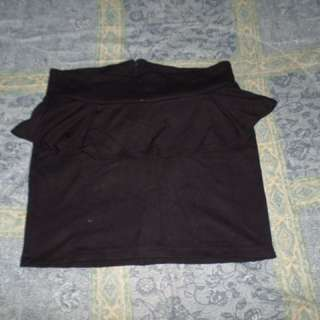 Pre loved peplum skirt