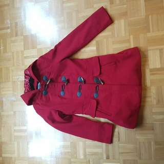 Suzy Shier Little Red Riding Hood jacket