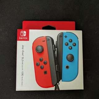 Nintendo Switch Joycons (L) Red / (R) Blue