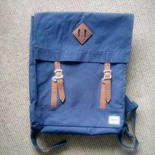 Navy Blue Herschel Backpack