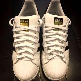 Adidas Superstar Sz. 9.5 Mens