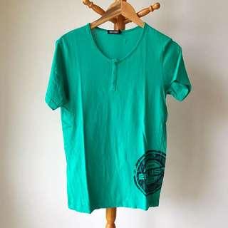 🚚 2(X)IST 亨利領 T-shirt