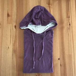 🚚 NET 接袖口袋連帽 T-shirt