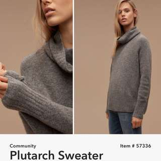 Community Plutarch Sweater Size XS Fits Oversized