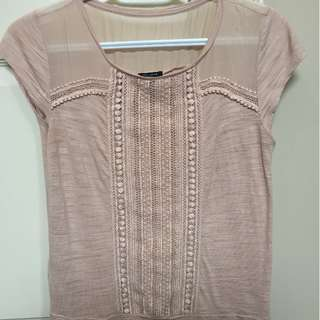 Anntaylor embroidered top