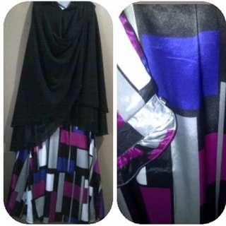 Set Gamis Dengan Jilbab