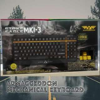 Armaggeddon Strike Eagle Mki-3 Mechanical Keyboard