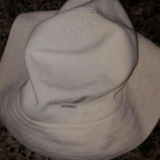 Kangol Bucket Hat size M White Color