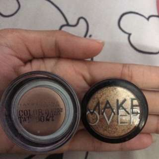 Maybeline Color Tattoo and Makeover Powder Eye Shadow