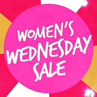 Wednesday Only SALE!