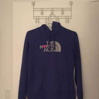 Purple Northface Hoodie Size Small