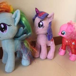Three My little ponies