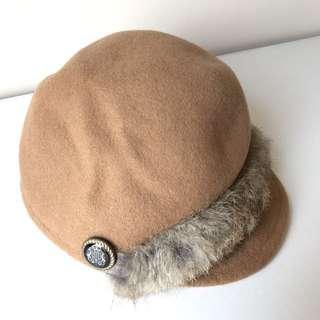 毛飾馬術帽全新現貨出清