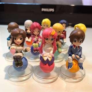 Haro Gundam Set 高達 1 set 10隻