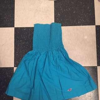 Hollister summer blue dress