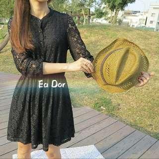 夏天就是要配竹藤帽