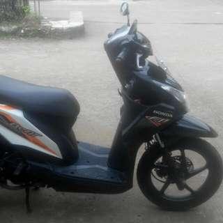 Honda Beat Fi th 2013  Original B Bekasi kota tangan ke I  Surat lengkap ( Bpkb Stnk Faktur )