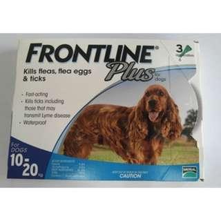 Frontline Plus Medium 滴蚤水