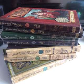 Spiderwick Chronicles Books 2-5 and Beyond The Spiderwick Chronicles Books 1-3