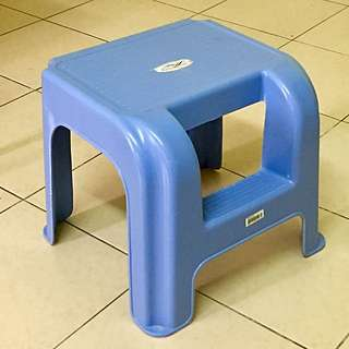 Plastic Stool (with Step)