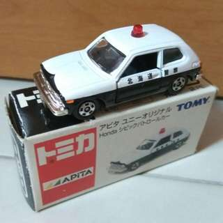 Tomica Apita Honda Civic Hokkaido Police