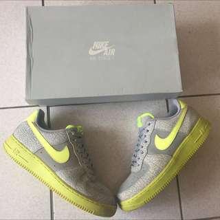 Nike Air Force 1 爆裂紋