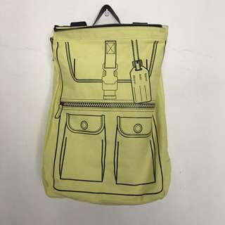 3 In 1 Convertible Canvas Bag