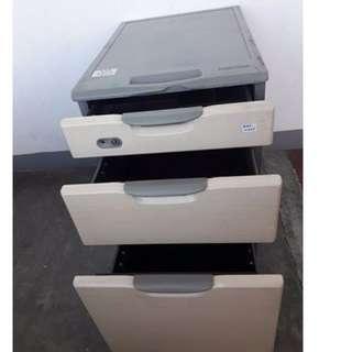 3 Drawer Sidewagon- Japan's Surplus Office Furniture