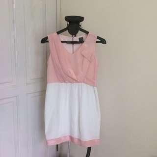 Sweet Pink Dress Brand Urban Twist