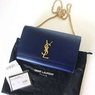 Authentic YSL Saint Laurent Monogramme Clutch Bag