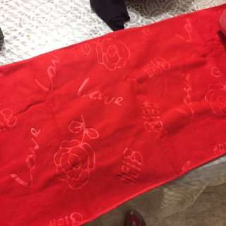 Red Towel For Wedding/Guo Da Li