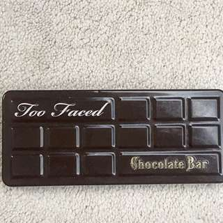 Two faced Chocolate Bar Palette