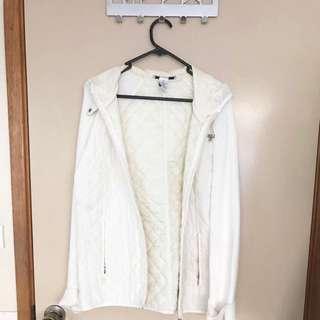 Women's White Jacket Size M