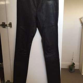 Sambag 100% Leather pants