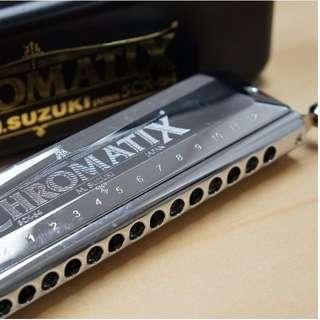 Suzuki Chromatix 16 note Harmonica SCX-64