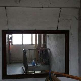 Old Big Mirror