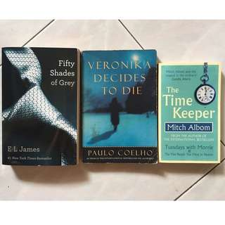 Fifty Shades Of Grey • Veronika Decides To Die • The Time Keeper